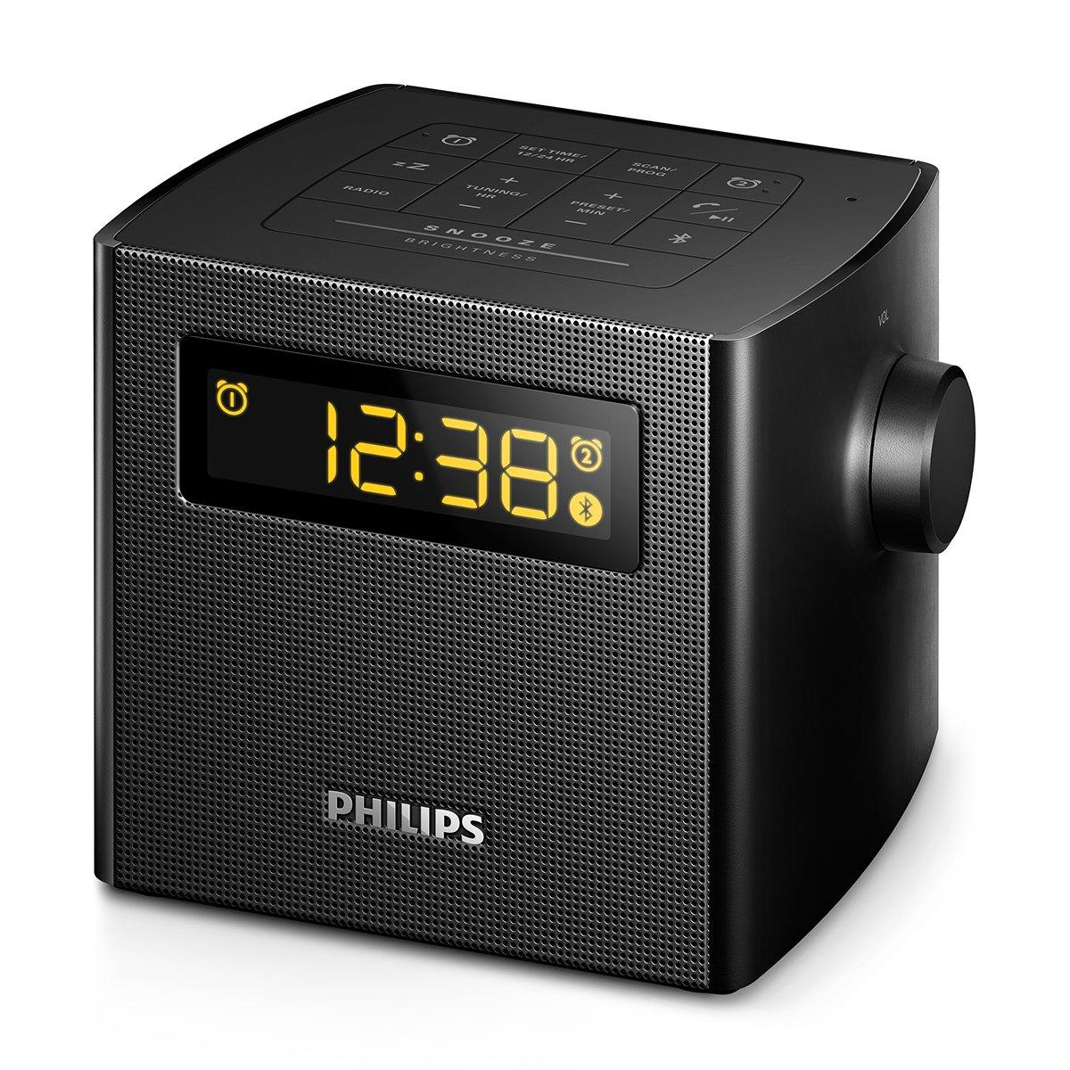 Philips AJT4400B/37 - Radio (Reloj, Digital, FM, 87,5-108 MHz, 2 W, LED): Amazon.es: Electrónica