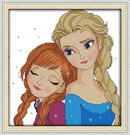 SISTERS BY CHANCE Counted Cross Stitch PATTERN//Chart *EASY*