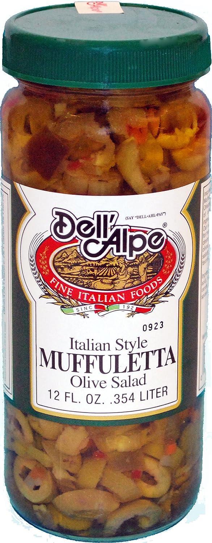 Dell'alpe Muffuletta Mild 12oz
