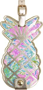 Lilly Pulitzer Shaped Luggage Tag Pineapple One Size