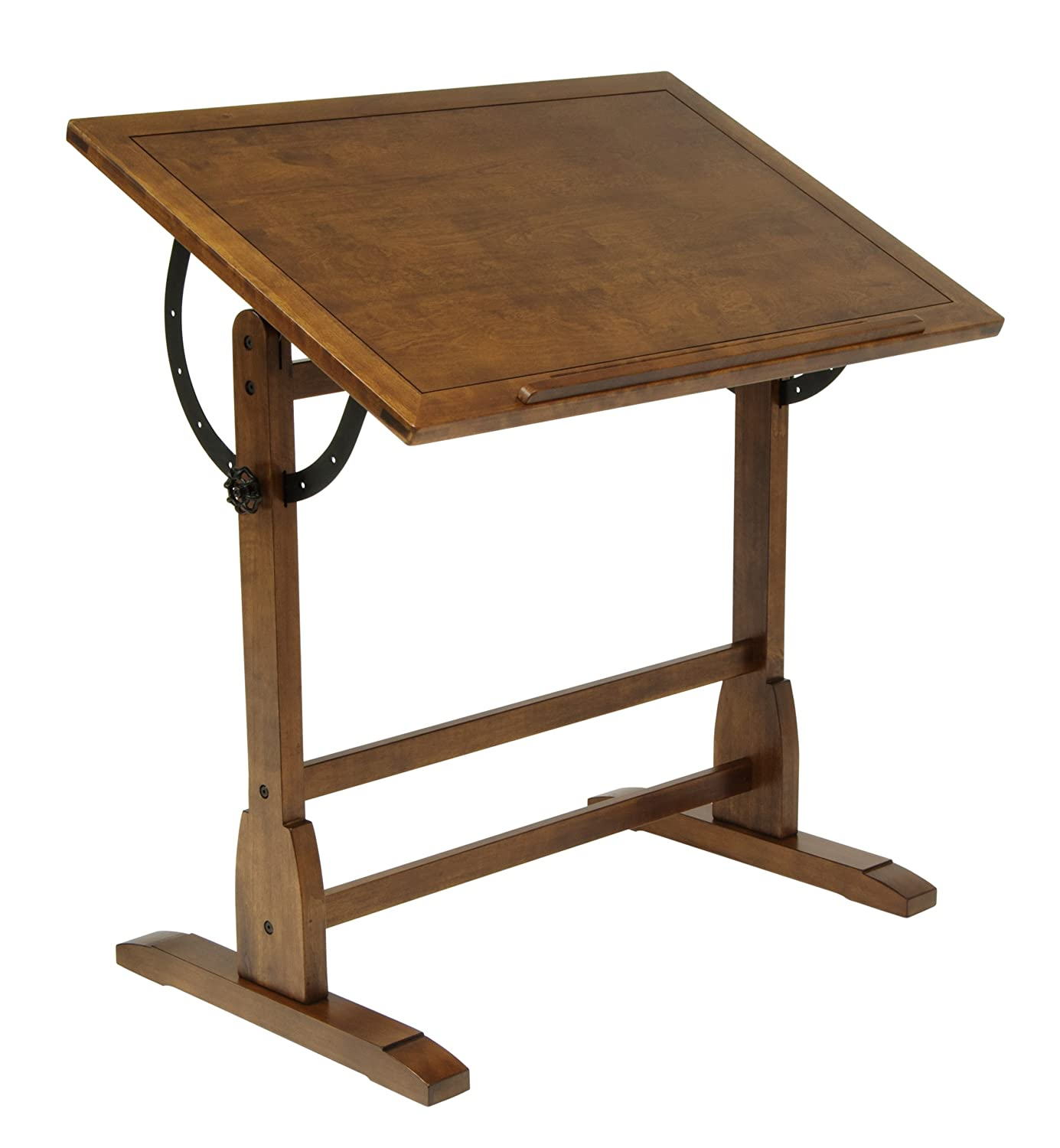 Amazon.com: Studio Designs 36 X 24 Inch Vintage Drafting Table, Rustic Oak:  Arts, Crafts U0026 Sewing