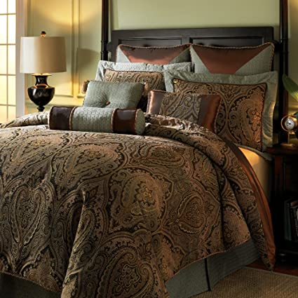 Amazon Com Hampton Hill Canovia Springs Duvet Style Comforter Set