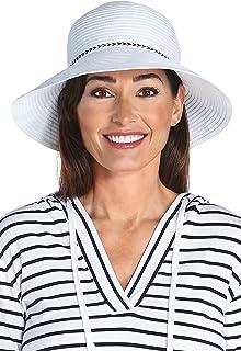 Coolibar Damen Bucket Hut, Weiß, OneSize