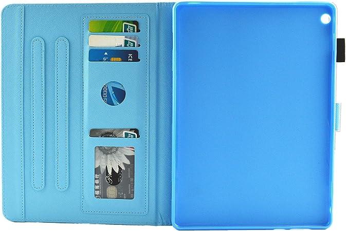MOKASE Huawei MediaPad m3/Lite 8/custodia leggero cavalletto in pelle protettiva cover in pelle Premium per Huawei MediaPad m3/Lite 8/Tablet con della carta