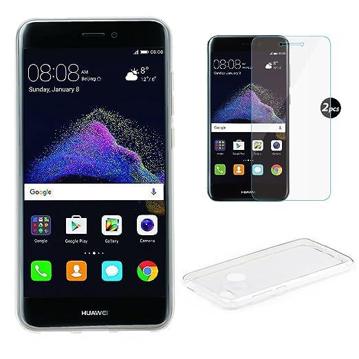 17 opinioni per Custodia Huawei P8 lite 2017 + Pellicola Protettiva, EUGO Lusso TPU Silikon Case
