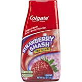 Colgate Kids 2-in-1 Toothpaste and Mouthwash, Strawberry, 4.6 Fluid Ounce