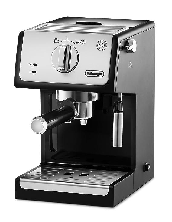 De'Longhi ECP33.21 - Cafetera espresso apta para café molido y monodosis ESE
