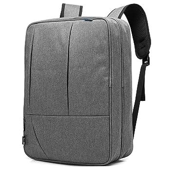 Srotek Convertible Bolsa de Messager Bolsa Bandolera de Mano maletines Portátil - 5502 Gris Gris 17.3 Inches: Amazon.es: Informática