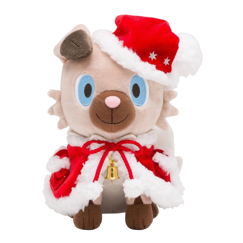 Pokemon Center Original Plush Doll Christmas 2017 Rockruff -