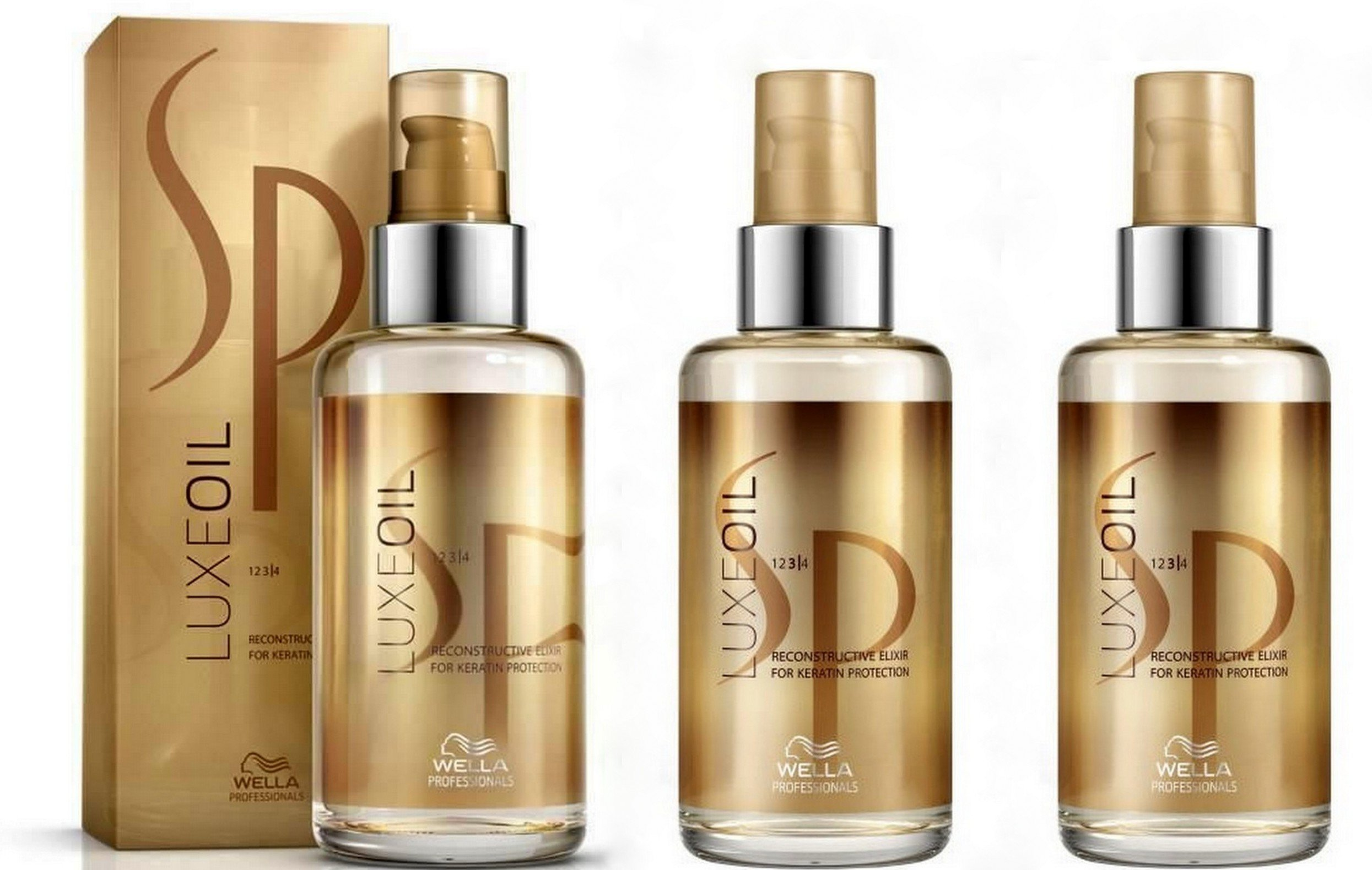 Wella System Professional SP Luxe Oil 3x 100ml = 300ml [Badartikel] by Wella