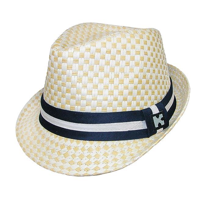 cb38a434c70 Amazon.com  Kenny K Boys  Dressy Toyo Fedora Hat