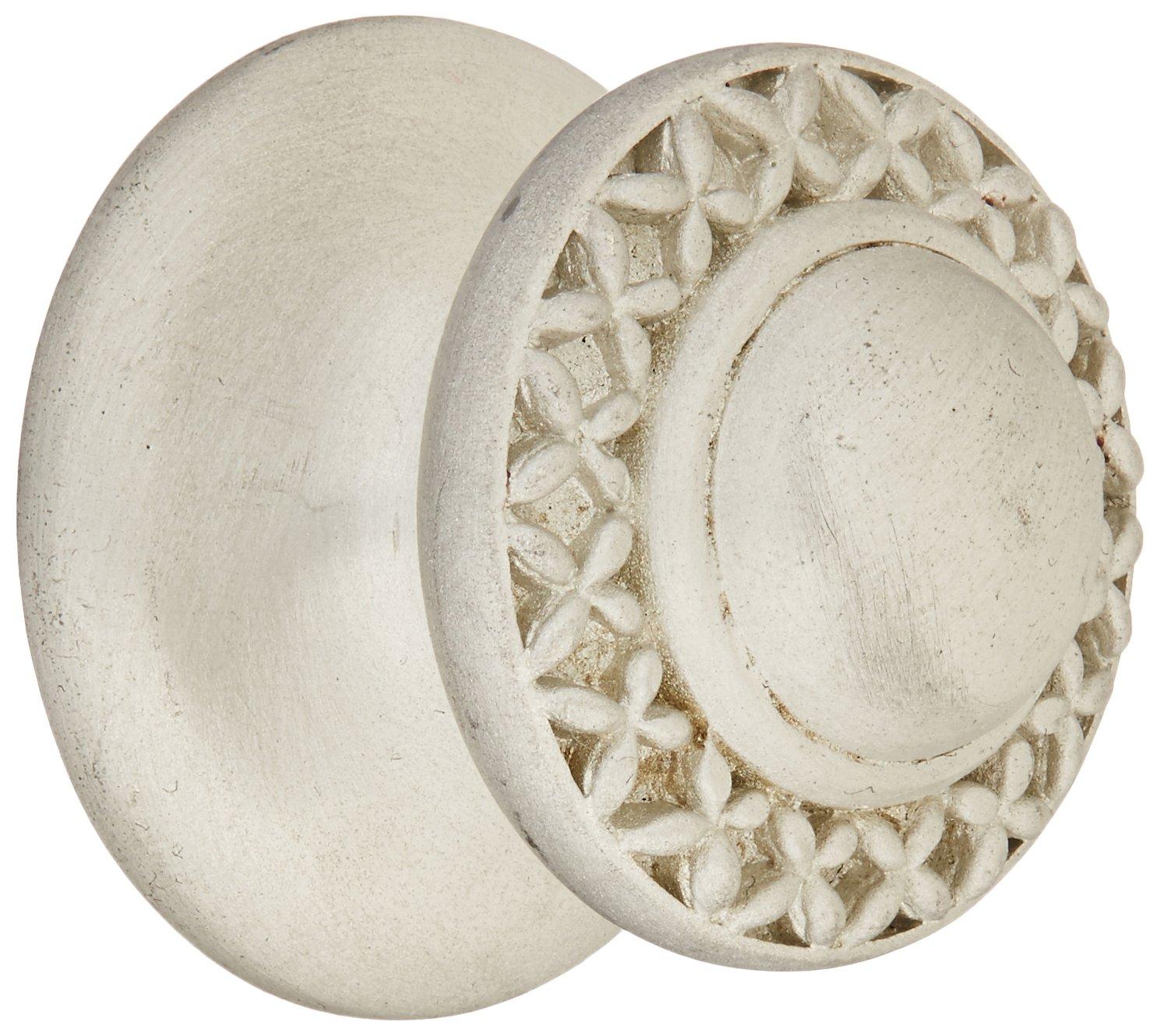 Vicenza Designs K1150-PEWT-SN Gioiello Kisses Knob Small Satin Nickel