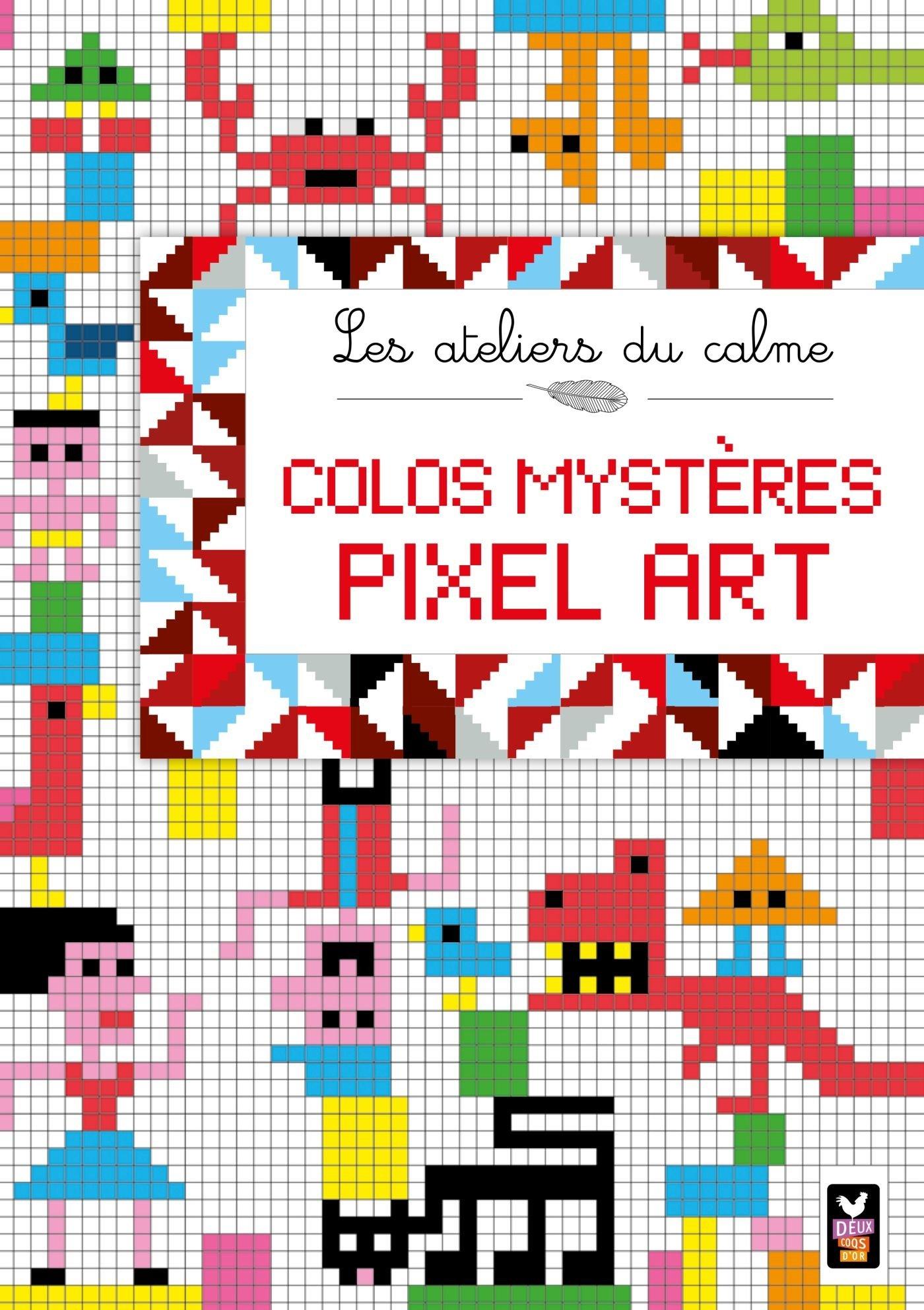 Colos Mystères Pixel Art Amazon Fr Aurélie Desfour De Vos