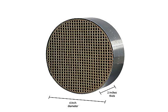 Amazon.com: Panal de cerámica (CC-001) Catalizador Combustor ...