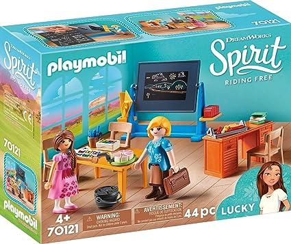 Amazon.com: Playmobil Spirit Riding Free Miss Flores ...