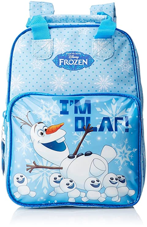 Little Helper Olaf Frozen Mochila Infantil, 30 cm, Azul