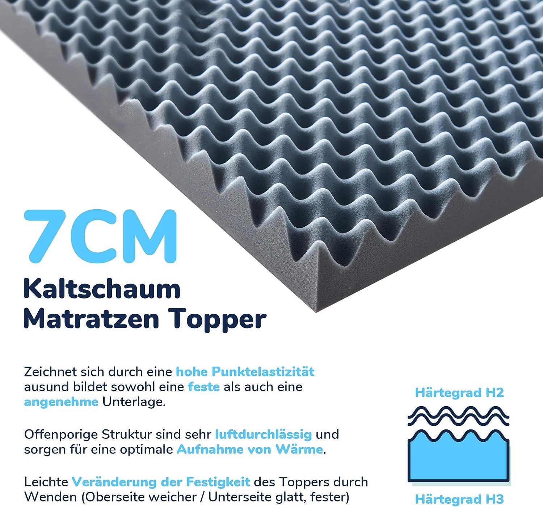 Kaltschaum Topper von Snoozo