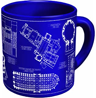 Amazon legal paper paperweight moma exclusive tibor kalman architecture coffee mug architectural drawings of famous buildings from classic to classical comes malvernweather Gallery