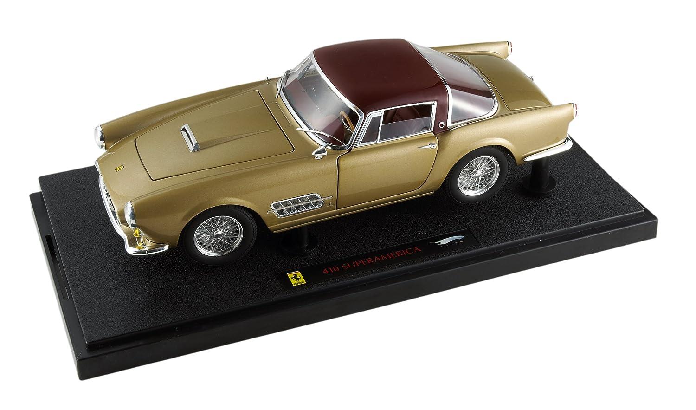 Hot Wheels Elite Ferrari 410 Superamerica Bordeaux Top Christmas Hotwheels 143 Fxx Michael Schumacher Gold