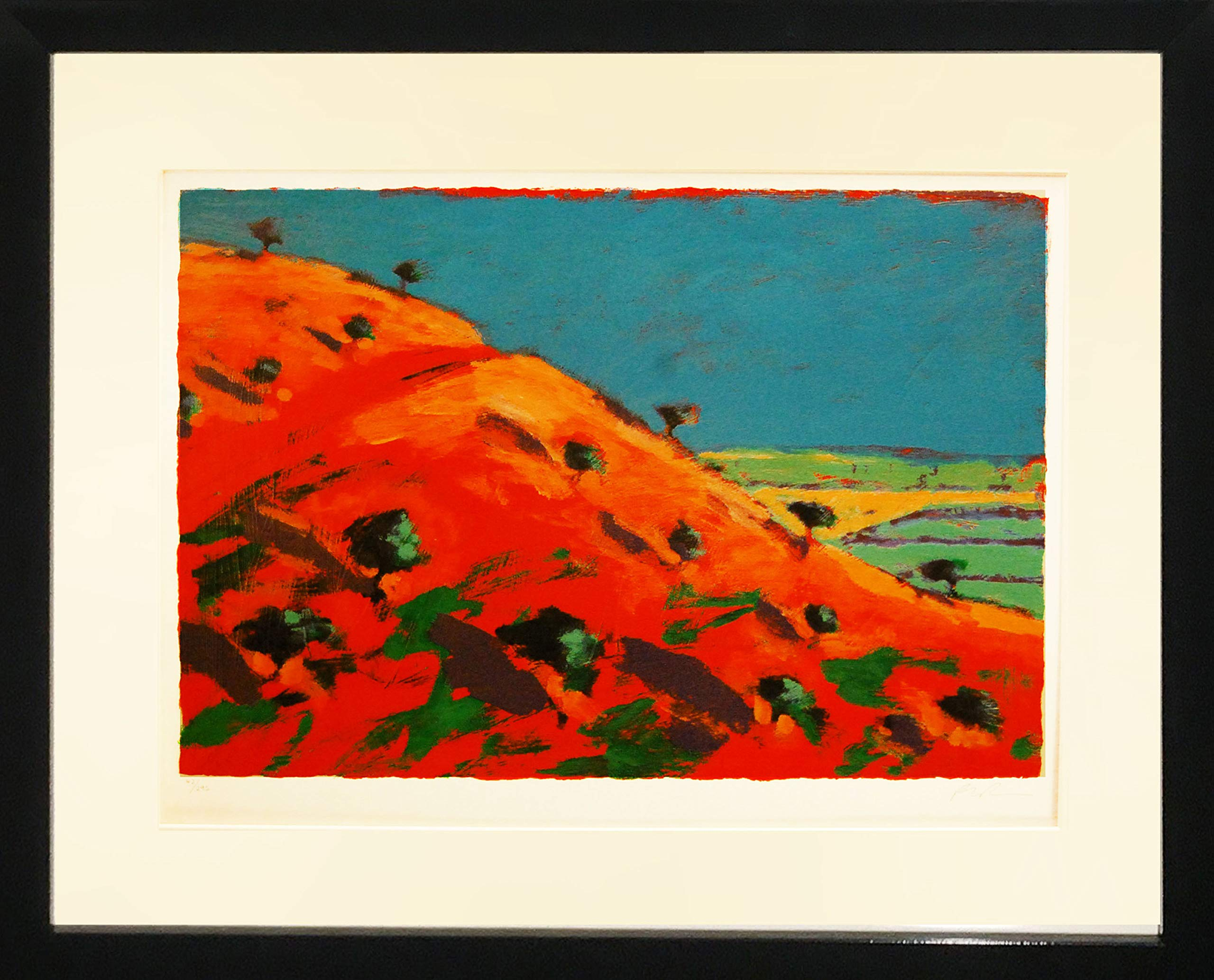 Framed Art''North Hill'' by Paul Powis by