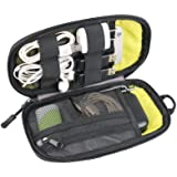 Twod Electronic Organizer Travel Universal Accessories Storage Bag Portable for Hard Drives, Cables, Memory Sticks, Charger,