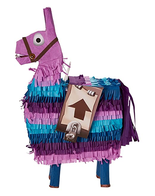 Amazon Com Spirit Halloween Fortnite Loot Llama Pinata Clothing