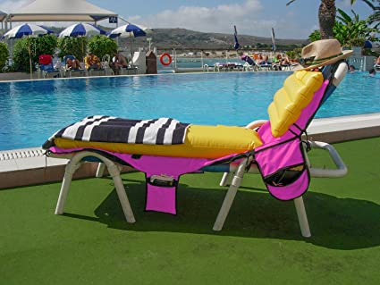 Beachbagplus Bolso para la playa con colchoneta para tumbona ...