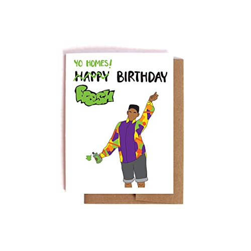 Amazon Com Fresh Prince Of Bel Air Will Smith Birthday Card Handmade