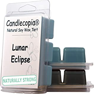 product image for Candlecopia Stormy Nights, Black Sea and Lunar Eclipse Strongly Scented Hand Poured Vegan Wax Melts, 18 Scented Wax Cubes, 9.6 Ounces in 3 x 6-Packs