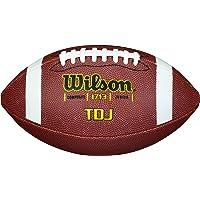 Wilson American Football voor kinderen en tieners, gemengd leer, TDJ COMPOSITE KIDS Brown, WTF1713X