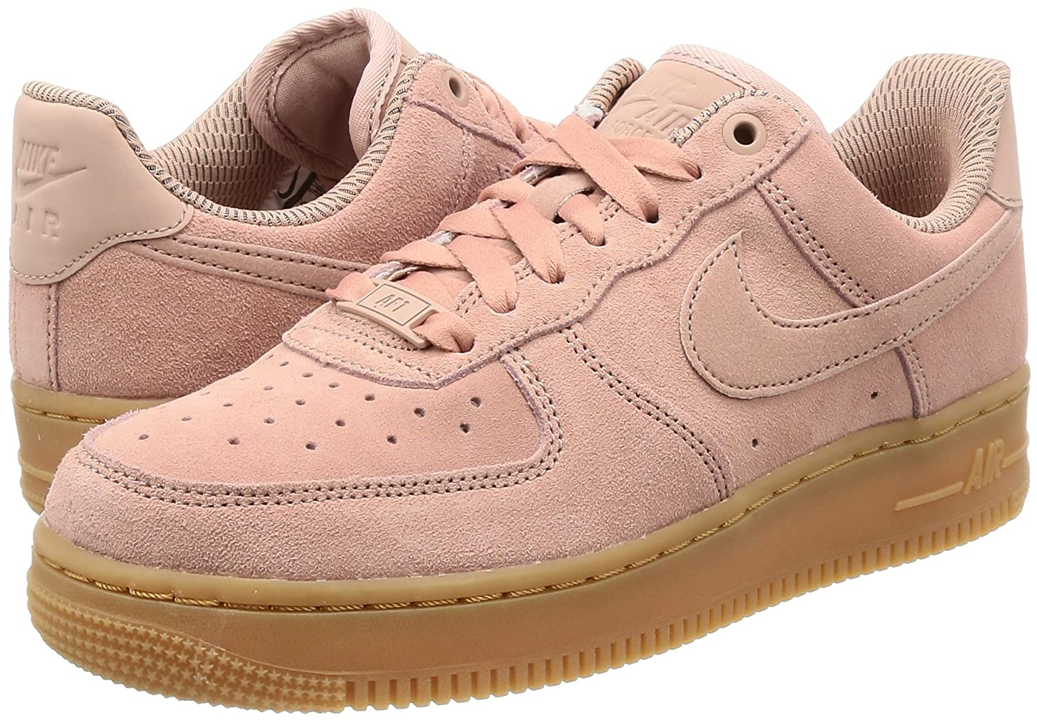 check out 51c2f 05037 Nike Air Force 1  07 Women s Brown Ivory AA0287-200 (8.5 B(M) US, Particle  Pink Particle Pink)  Amazon.ca  Shoes   Handbags
