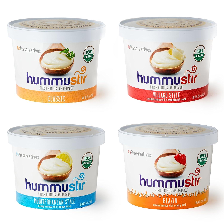 Hummustir: Organic Hummus, Mixed Styles
