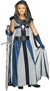 Fun World Girls Knight Costume Child Warrior Costume