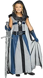 Fun World Girls Knight Costume Child Warrior Costume