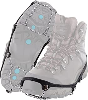 Yaktrax Diamond Grip All-Surface Traction Cleats for Walking on Ice and Snow, Medium YakTrax Footwear 08531
