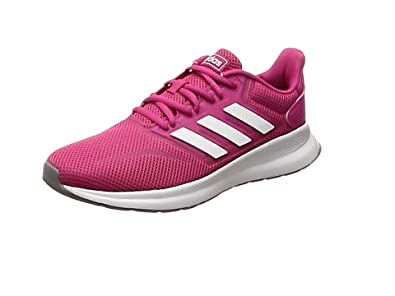 adidas Women's Falcon Running Shoes, Red (Real Magenta