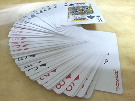 100/% PLASTIC COATED PAPER ROYAL PLAYING CARDS DECK GAME POKER BUY 1 GET 1 FREE