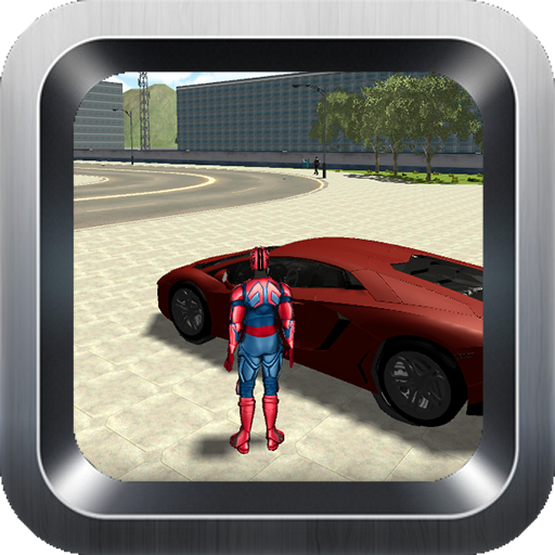 Superhero Attack the Gangster -