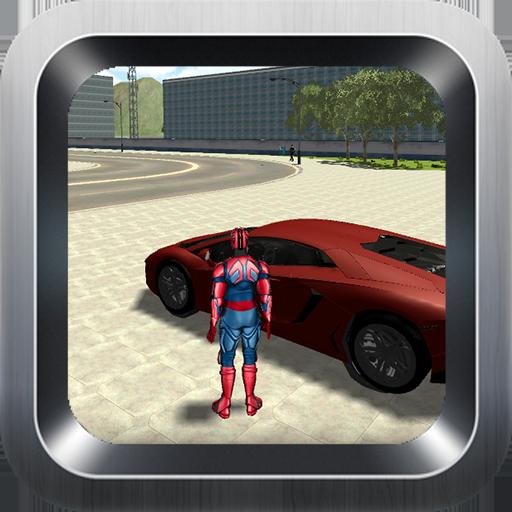 Superhero Attack the Gangster - Miami Ironman