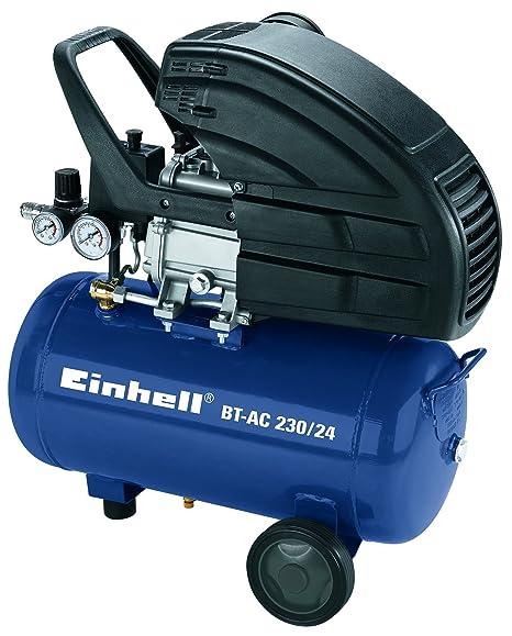Einhell 4010350 Compresor, 1500 W, 230 V, Negro, Azul