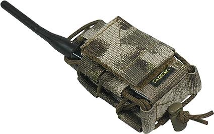 Estuche t/áctico para radio de dos v/ías y GPS 1000D Molle Tactical