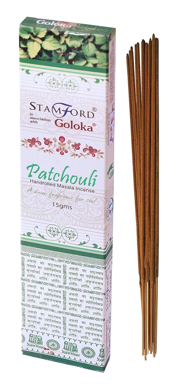 Goloka patchouli incenso, Bundle of 3 Packs