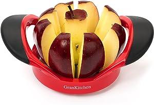 GranKitchen Apple Slicer - Corer, Cutter, and Divider - Red ... (1) by GranKitchen