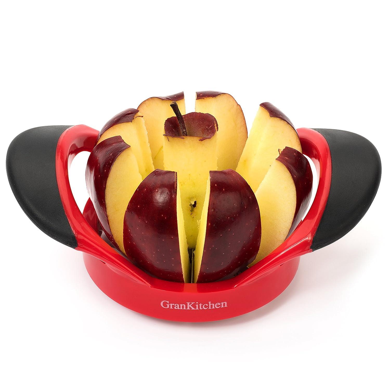 GranKitchen Apple Slicer - Corer, Cutter, and Divider - Red ... (1) by GranKitchen Gran Goods