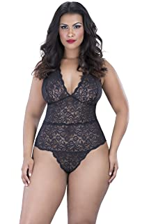 cc019a39755 Amazon.com  Oh la la Cheri Women s Simone Teddy Plus Size  Clothing