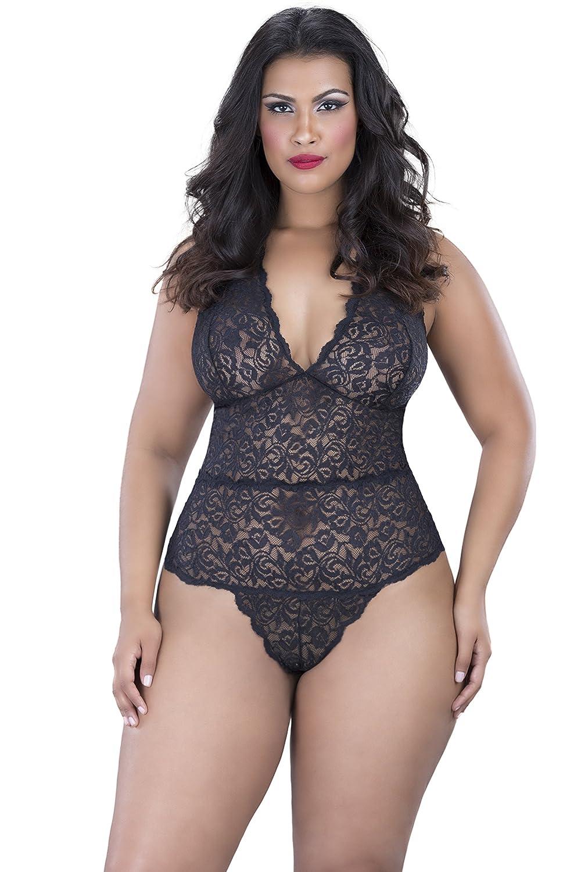 ef640c7ab Amazon.com  Oh la la Cheri Women s Sophie Teddy Plus Size  Clothing