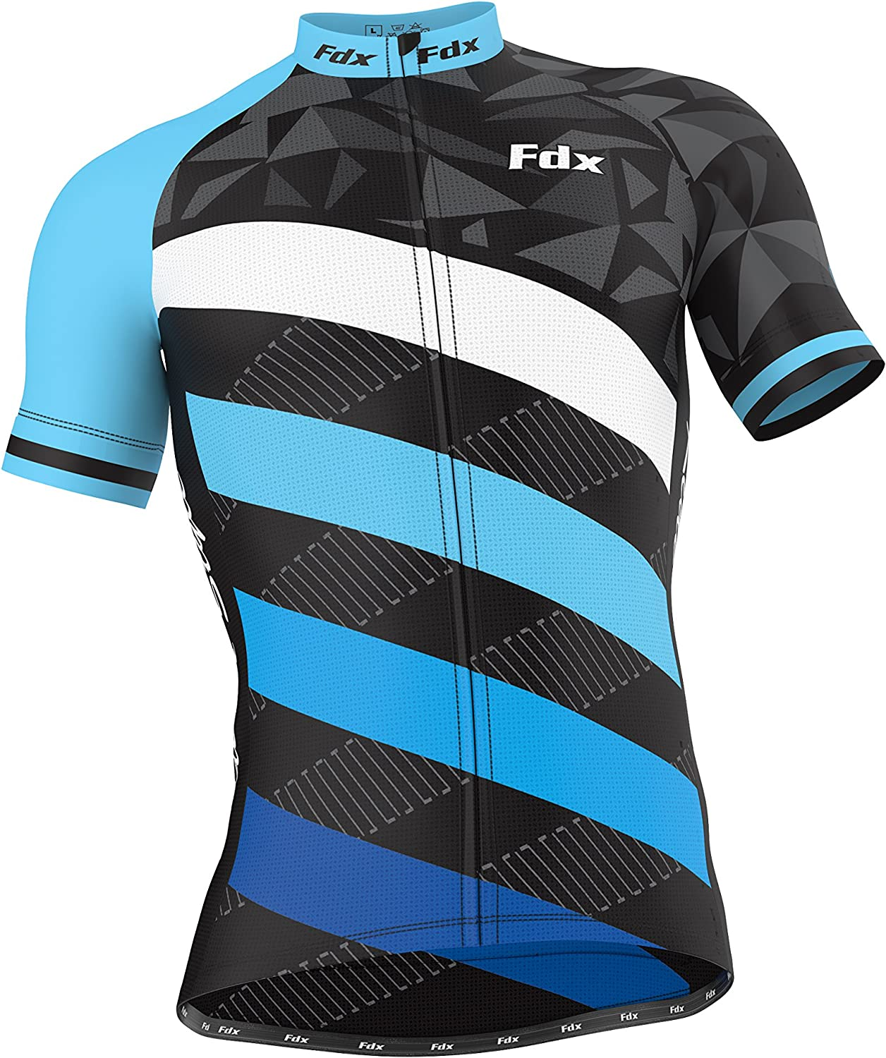 """FDX Mens /""""Limited Edition/"""" Cycling Jersey Short sleeve Breathable Biking Top"""