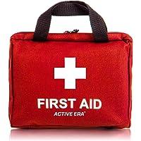 Premium Erste-Hilfe-Set mit Sofort Kühlpacks, Augenspülung, Rettungsdecke für zu Hause, Büro oder Auto