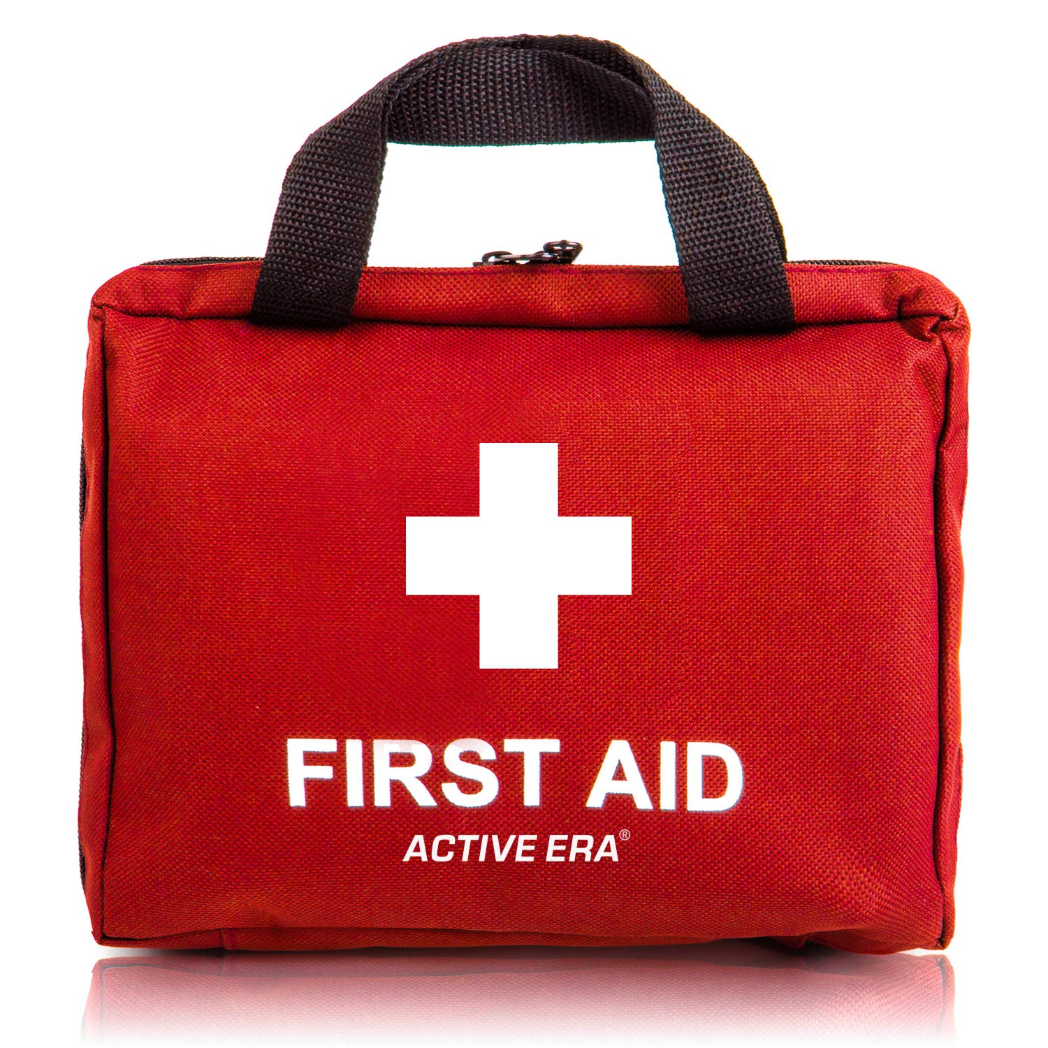 90 Pieces First Aid Kit - All-Purpose with Premium Medical Supplies and Soft Case for Home, Office, Business, Car, Camping and Travel by Active Era