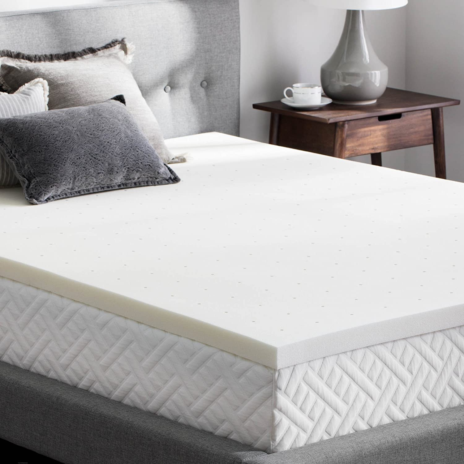 WEEKENDER 2 Inch Memory Foam Mattress Topper – Full